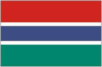 Bandeira de Gâmbia