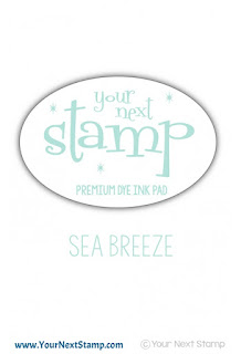 Premium Dye Ink Pad Sea Breeze