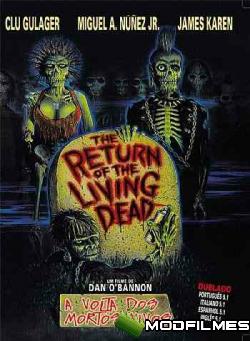 Capa do Filme A Volta dos Mortos Vivos