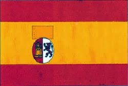 Bandera Nacional y de Guerra (1873-1874)- Primera República.