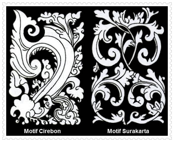 Motif Cirebon dan Surakarta