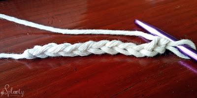 szydełkowy ścieg na dywaniki – fotonstruktaż