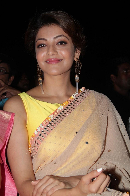 Actress KajalAggarwal Latest Images In Saree