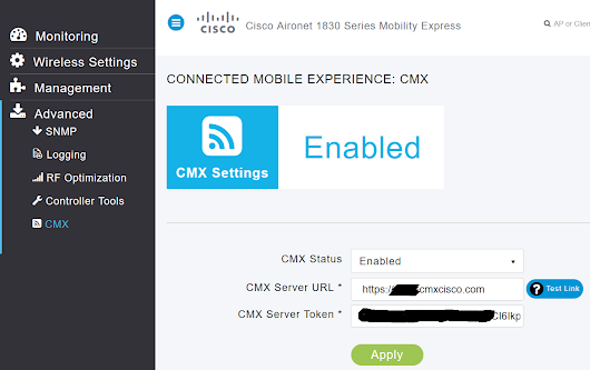 CMX Cloud with Mobility Express is here