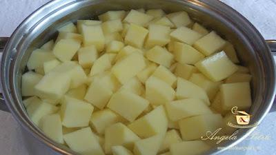 Cartofi taranesti - etapa 2