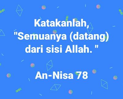 hikmah iman kepada qada dan qadar