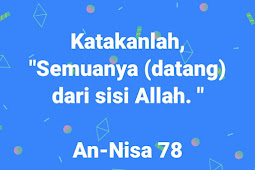 Hikmah Beriman Kepada Qada dan Qadar Allah Swt.