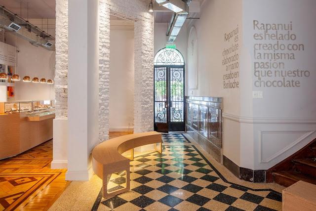 Sorveteria em Buenos Aires empolga clientes restaurando casas nobres de estilo.