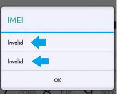 yang berfungsi sebagai identitas pada HP 5+ Tutorial Perbaiki IMEI Hilang (INVALID) Di Android Setelah Flash (BERHASIL)