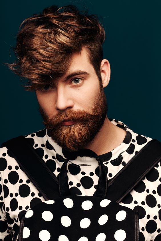 Super 10 Cool Full Beard Short Hairstyles Gunalazisus