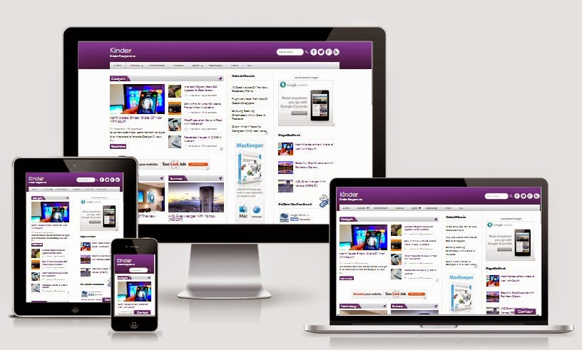 54 Top and Best Free Responsive Blogger Templates