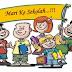 Lirik Lagu Hari Pertama Masuk Sekolah - Ayo Sekolah