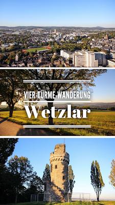 Premiumweg + Vier Tuerme Wanderung Wetzlar + Wandern Hessen + Drohne Luftaufnahme + Rundtour Mittelhessen + Goethe Wanderung GPS Track + Wanderkarte