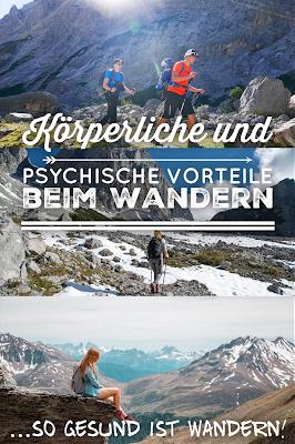 Wie du dich mit Wandern fit hältst und Krankheiten vorbeugst! Körperliche und psychische Vorteile beim Wandern und Prävention 01