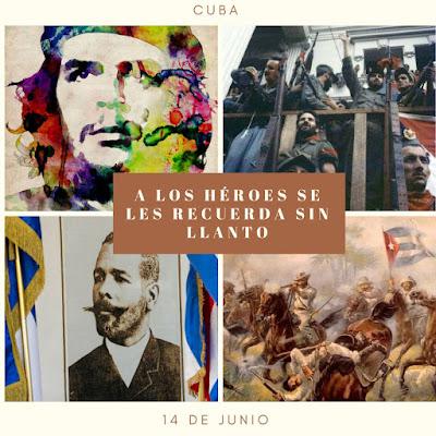 14 de junio: natalicio de Antonio Maceo y Ernesto Guevara
