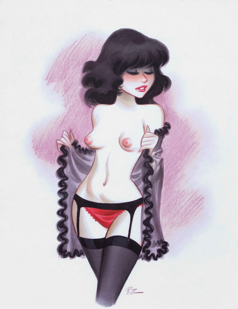 Bruce Timm - Sexy Girls Fine Arts-9995