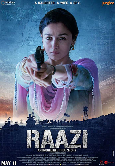 Poster Raazi 2018 Full Hindi Movie Download HD Free 720p