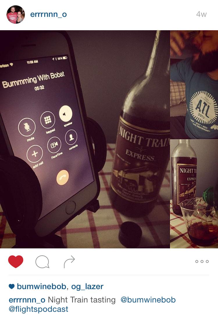Bum Wine Of The Week Night Mist 9415 Bumming With Bobcat