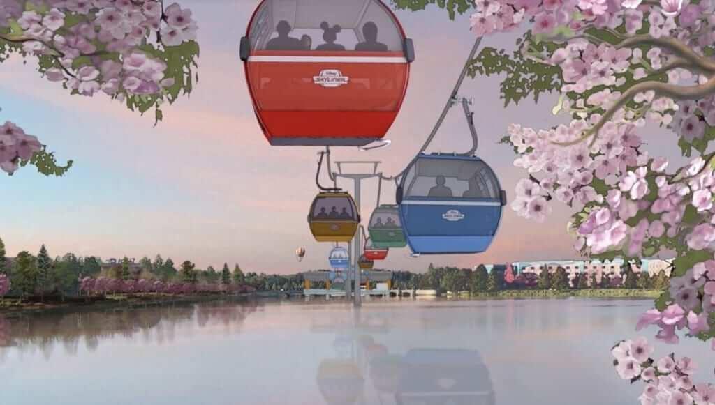 Disney Skyliner: o bondinho que liga os hotéis e parques da Disney Orlando