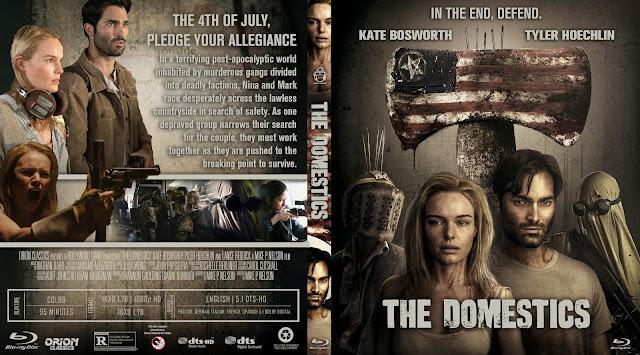 The Domestics Bluray Cover