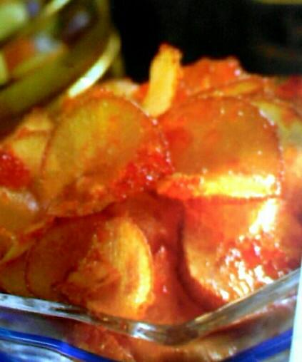 Resep cara membuat keripik singkong pedas
