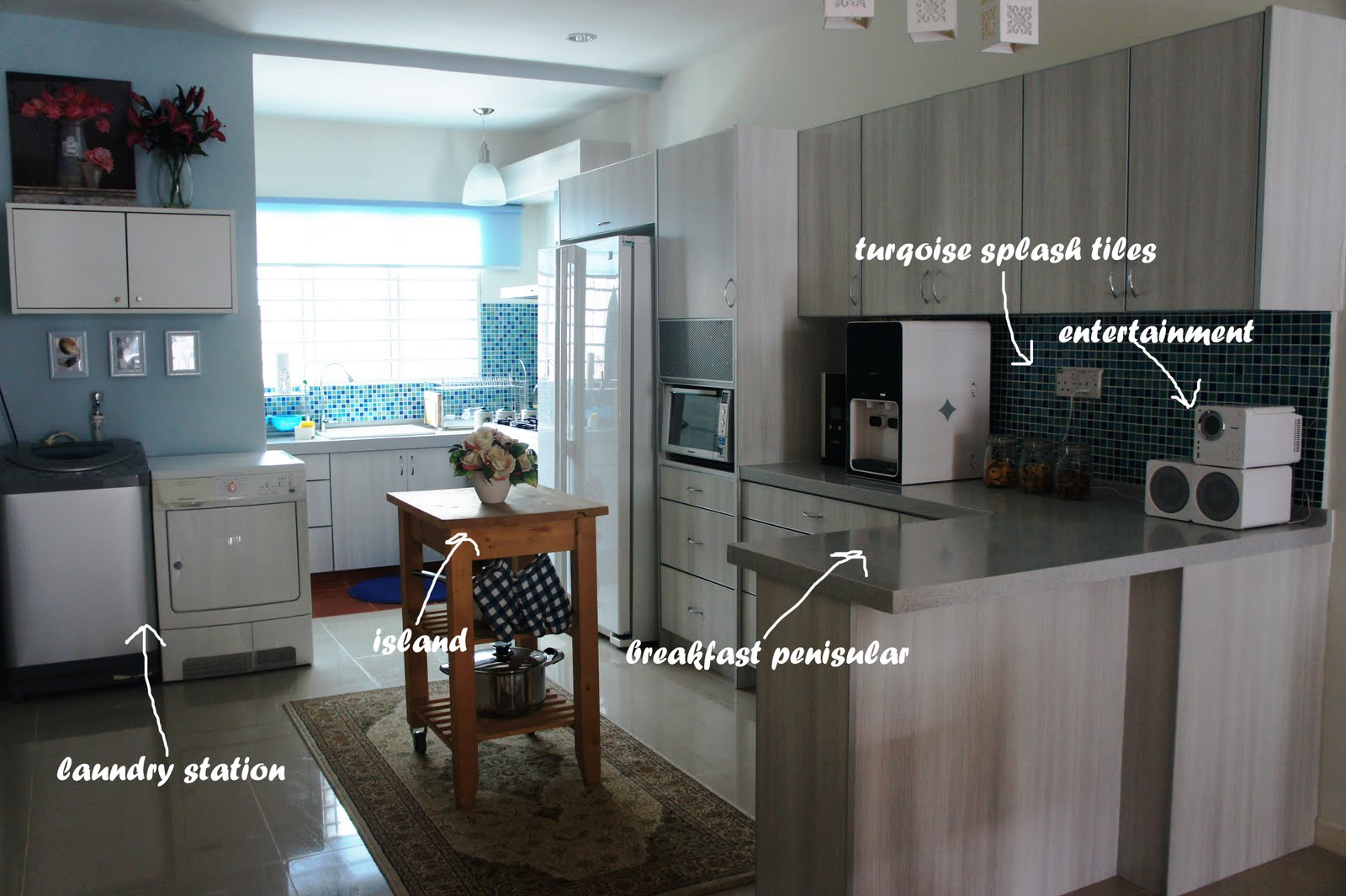 When I Came Back To Kl Decided Re Design The Kitchen And Improve Previous Layout Believe Know One Even My Mom Saw This Version Of