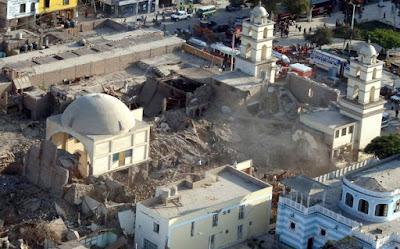 Terremoto en Pisco, Catedral de Pisco, ciudad de Pisco, Pisco y Paracas que ver