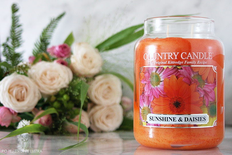 świeca country candle sunshine & daisies