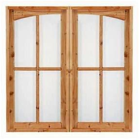 gambar model kusen jendela kayu