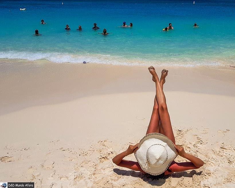 Eagle Beach: Praias de Aruba, Caribe: guia com 23 praias