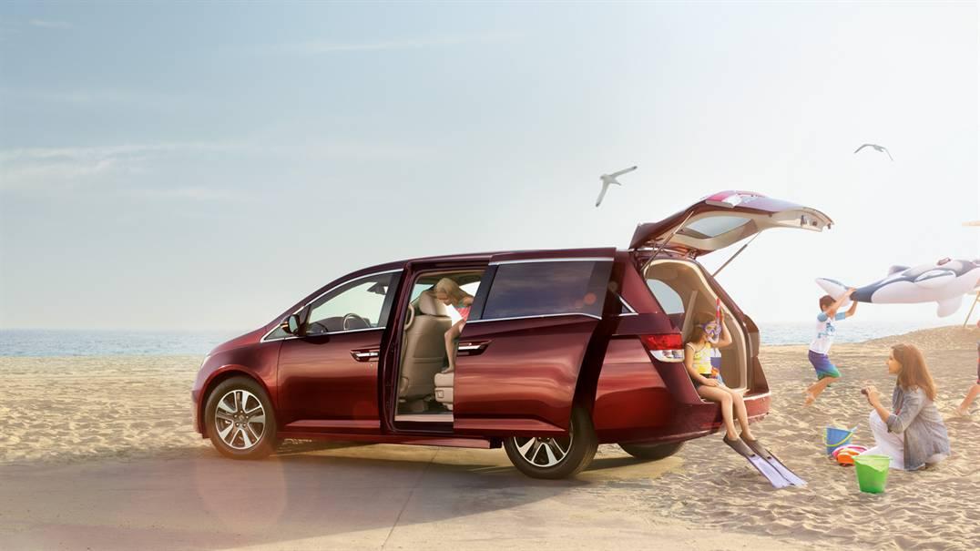 Với Honda Odyssey 2016, gia đình bạn có thể đi bất cứ nơi đâu