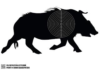 wild boar target