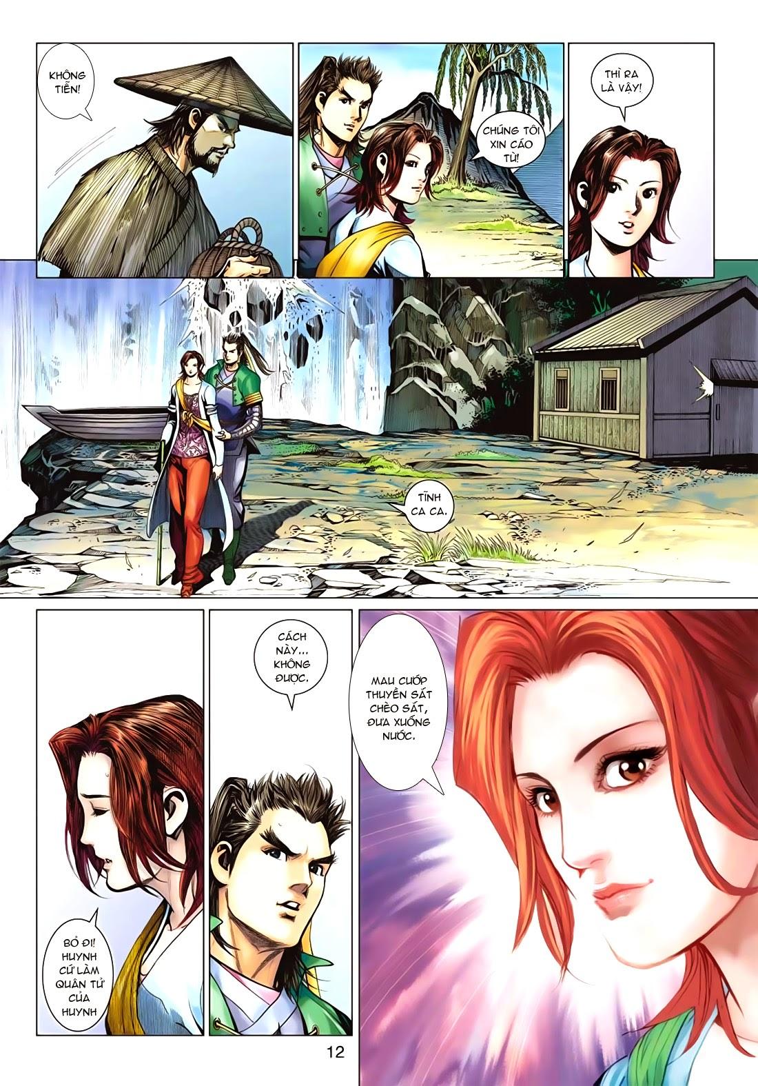 Anh Hùng Xạ Điêu anh hùng xạ đêu chap 72: ngư tiều canh độc trang 12