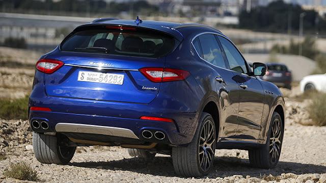 Maserati Levante S Blue HD Image