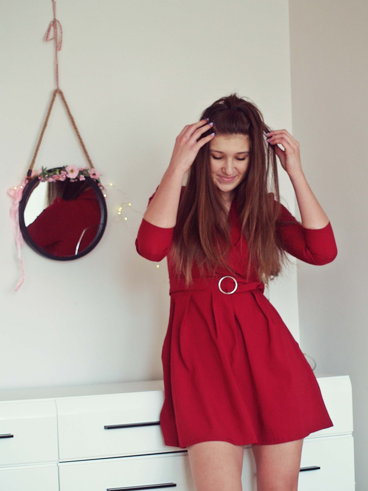RED DRESS for VALENTINE & xmass decoration