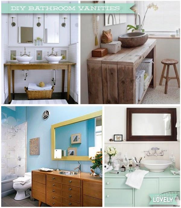 Diy Professionals Kitchen Bath Cabinets Vanities: Wouldn't It Be Lovely: DIY Bathroom Vanities