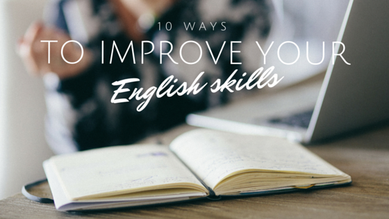 how to improve english skills