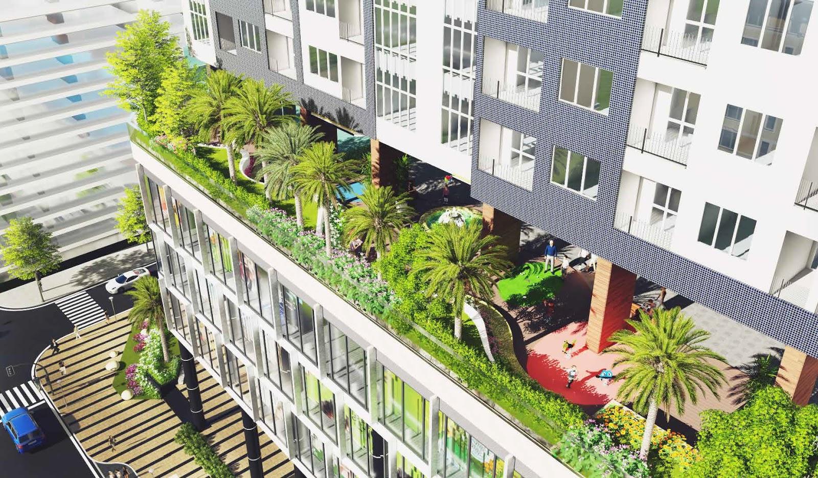Tiện ích hiện đại tại chung cư Golden Palm