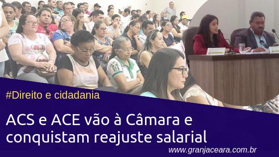 Agentes de Saúde conquistam reajuste salarial na Câmara dos Vereadores na última quarta-feira (13)