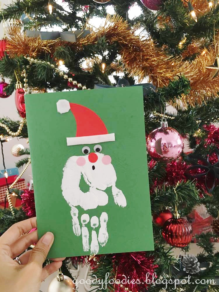 Irresistible Santa Claus Kids Craft
