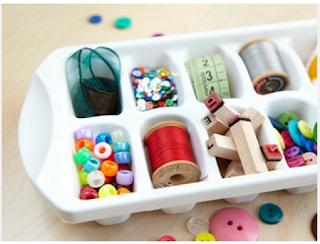 بعض الأفكار المبتكرة للإستفادة من الأدوات المنزلية فى تنظيم منزلك.