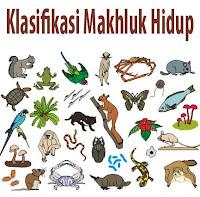 klasifikasi penggolongan atau pengelompokkan makhluk hidup
