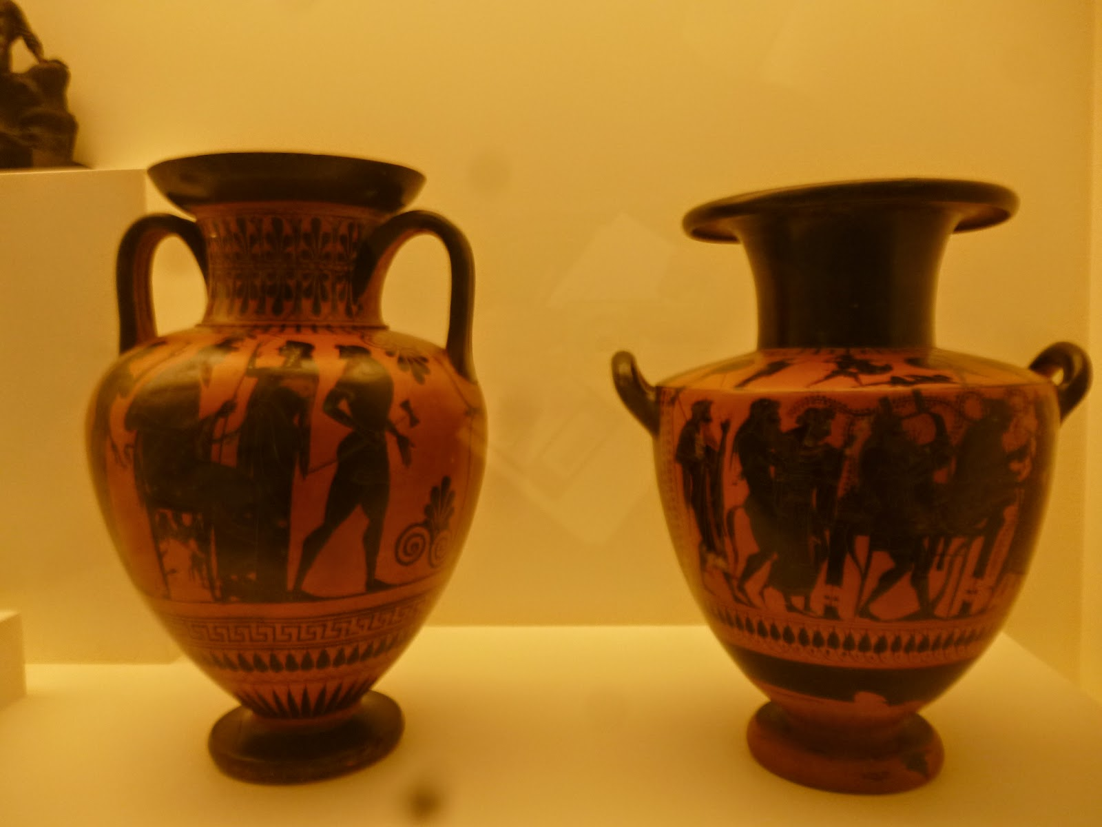 Greek Vases - Bendigo Art Gallery