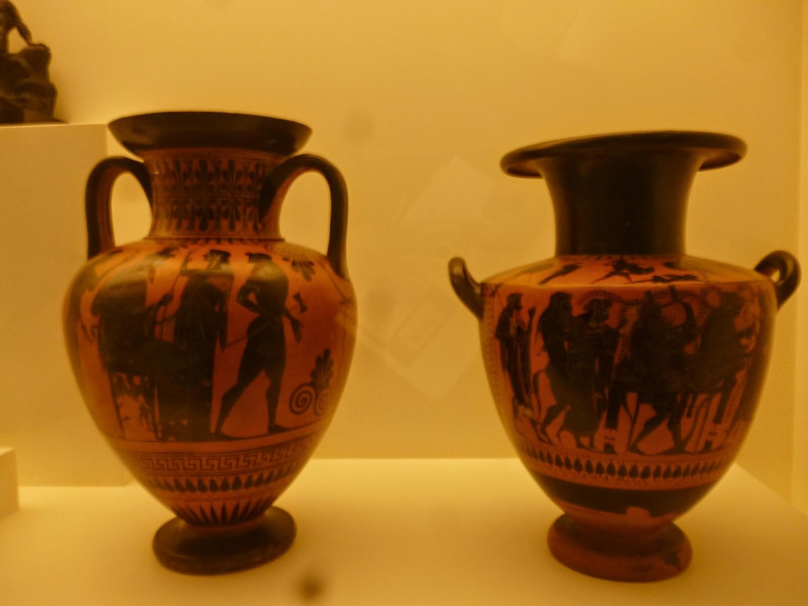 Greek Vases - Bendigo Art Gallery