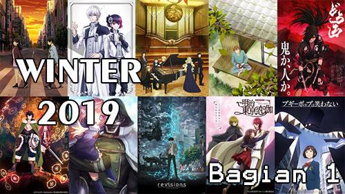 List Anime Winter Musim Dingin 2019 dan Daftar Karakter, Genre, Sinopsis dan Tanggal Rilis [Bagian 1]