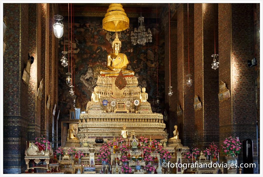 Phra Ubosot en Wat Pho en Bangkok