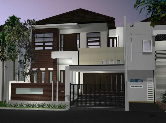 desain interior rumah minimalis 2 lantai type 36