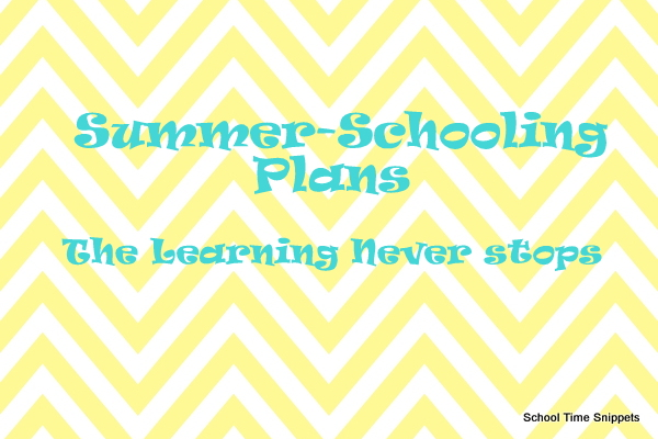homeschool summer school plans