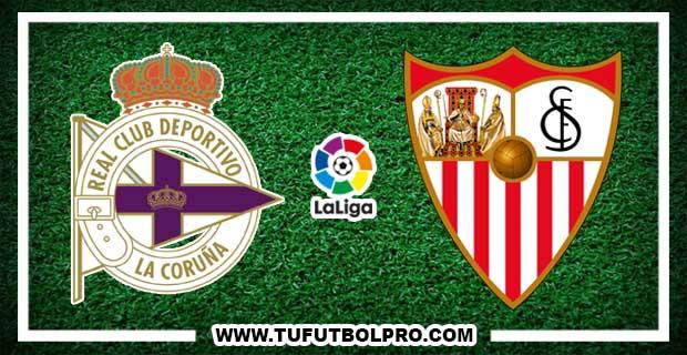 Ver Deportivo vs Sevilla EN VIVO Por Internet Hoy 17 de Abril de 2018