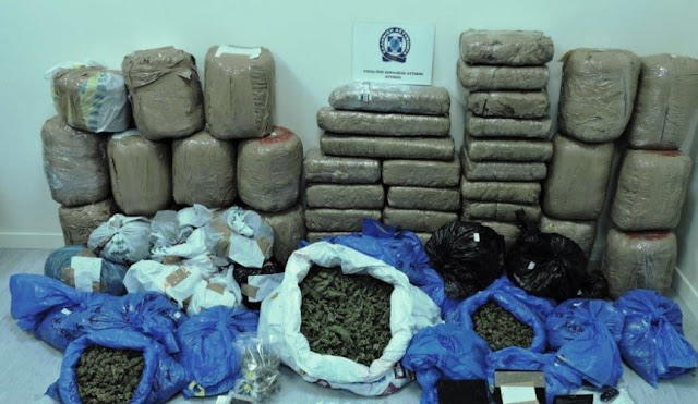 Albanian-Greek drug organization demolished in Greece